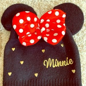 Minnie Mouse child winter hat